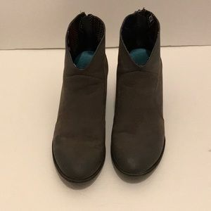 Blowfish Shoes - Women's Blowfish low boots in a grey color